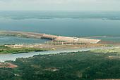 Tucurui, Para State. Tucurui reservoir and hydroelectric dam.