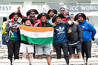 The Indian fans enjoying themselves despite the weather during India vs New Zealand, ICC World Test Championship Final Cricket at The Hampshire Bowl on 18th June 2021