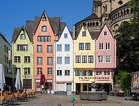 Fischmarkt, Köln, Nordrhein-Westfalen, Deutschland, Europa<br /> Fischmarkt, Cologne, North Rhine-Westphalian, Germany, Europe