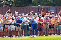 5th September 2021: Atlanta, Georgia, USA;  Dustin Johnson (USA) tees off the 8th hole during the 4th and final round of the TOUR Championship  at the East Lake Club in Atlanta, Georgia.