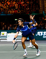 Rotterdam, The Netherlands, 15 Februari 2020, ABNAMRO World Tennis Tournament, Ahoy, <br /> Dooubles: Pierre-Hugues Herbert (FRA) and Nicolas Mahut (FRA).<br /> Photo: www.tennisimages.com