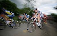 Lars Bak (DNK) on top of La Redoute<br /> <br /> 2013 Ster ZLM Tour <br /> stage 4: Verviers - La Gileppe (186km)