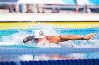 Santa Clara, California - Saturday June 4, 2016: Tom Shields races in the Men's 200 LC Meter Butterfly at the Arena Pro Swim Series at Santa Clara A final.