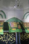 Nabi Musa in the Judean Desert, a Muslim pilgrimage site, tomb of Moses