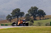11th September 2020; Mugello race track, Scarperia e San Piero, Tuscany, Italy ; Formula 1 Grand Prix of Tuscany, Free practise; 4 Lando Norris GBR, McLaren F1 Team