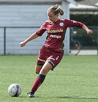Dames Zulte Waregem - Famkes Merkem :<br /> <br /> Dames Zulte Waregem : Eva Van Daele<br /> <br /> foto VDB / BART VANDENBROUCKE