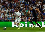 Real Madrid CF's Dani Carvajal during UEFA Champions League match, groups between Real Madrid and Club Brugge at Santiago Bernabeu Stadium in Madrid, Spain. October 01, 2019.(ALTERPHOTOS/Manu R.B.)