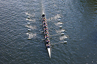 Eight Woman Crew Races, Team Rowing, Windermere Cup 2017, Mountlake Cut, Lake Washington, Seattle, WA, USA.