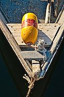Rowboat detail.