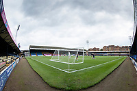 A general view from the corner at Roots Hall during Southend United vs Exeter City, Sky Bet EFL League 2 Football at Roots Hall on 10th October 2020