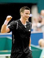 23-2-08, Netherlands, Rotterdam,  ABNAMROWTT 2008,  Soderling   plaatst zich voor de finale