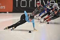 SPEEDSKATING: DORDRECHT: 06-03-2021, ISU World Short Track Speedskating Championships, Hanne Desmet (Bel), ©photo Martin de Jong