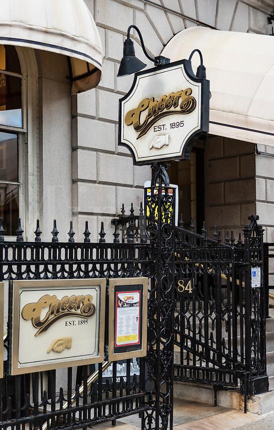 Cheers Boston Beacon Hill, formerly the Bull and Finch Pub, Boston, Massachusetts, USA