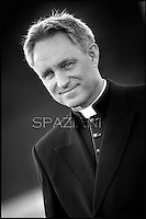 Monsignor Georg Gaenswein private secretary to Pope Benedict XVI during his weekly general audience in St. Peter square at the Vatican, Wednesday. 7 march, 2012
