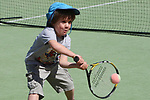 NELSON, NEW ZEALAND - SEPTEMBER 23: Anson Dean at the Open Day Tennis on September 23 2017 in Nelson, New Zealand. (Photo by: Evan Barnes Shuttersport Limited)