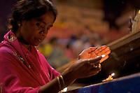 Hindu ceremony at the GangesVaranasi