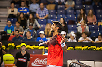VALENCIA, SPAIN - OCTOBER 27: Fernando Verdasco during Valencia Open Tennis 2015 on October 27, 2015 in Valencia , Spain