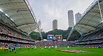 Scotland play Portugal on Day 1 of the Cathay Pacific / HSBC Hong Kong Sevens 2013 at Hong Kong Stadium, Hong Kong. Photo by Victor Fraile / The Power of Sport Images
