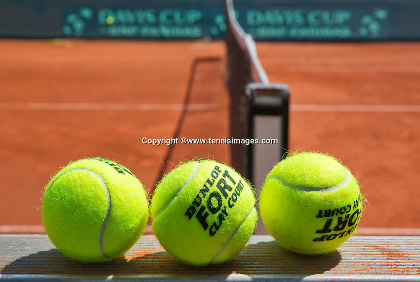 Austria, Kitzbühel, Juli 19, 2015, Tennis,  Davis Cup, Dunol FORT<br /> Photo: Tennisimages/Henk Koster