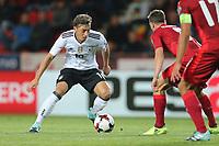 Messt Oezil #10 (Germany) and Vladimir Darida #8 (Tschechische Republik), Tschechische Republik vs. Germany, Football, WM-Qualifikation, 01.09.2017 *** Local Caption *** © pixathlon<br /> Contact: +49-40-22 63 02 60 , info@pixathlon.de