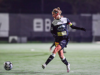 Aalst's Chloe Van Mingeroet pictured during a female soccer game between Sporting Charleroi and Eendracht Aalst on the 8th  matchday of the 2020 - 2021 season of Belgian Scooore Womens Super League , friday 20 th of November 2020  in Marcinelle , Belgium . PHOTO SPORTPIX.BE | SPP | DAVID CATRY