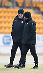 St Johnstone Training…12.12.17<br />Tommy Wright and Callum Davidson pictured during training this morning at McDiarmid Park ahead of tomorrow's game against Aberdeen<br />Picture by Graeme Hart.<br />Copyright Perthshire Picture Agency<br />Tel: 01738 623350  Mobile: 07990 594431