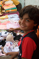 Tripoli, Libya - Young Boy, Badr, Selling Women's Clothes, Medina