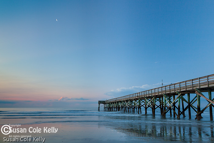 Beach sunrise at Isle of Palms, South Carolina, USA