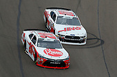NASCAR Xfinity Series<br /> DC Solar 200<br /> ISM Raceway, Phoenix, AZ USA<br /> Saturday 10 March 2018<br /> Christopher Bell, Joe Gibbs Racing, Toyota Camry Rheem and Cole Custer, Stewart-Haas Racing, Ford Mustang Haas Automation<br /> World Copyright: Russell LaBounty<br /> NKP / LAT Images