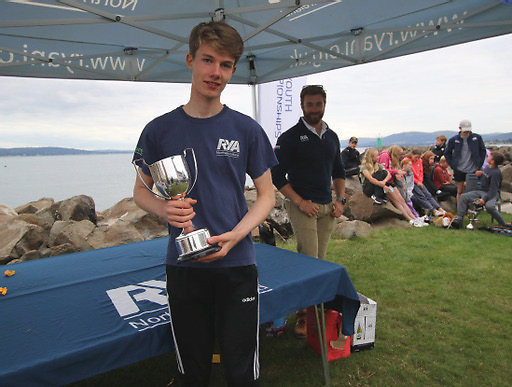 Daniel Palmer of BYC, Male Youth champion