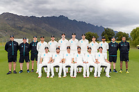 20th November 2020; John Davies Oval, Queenstown, Otago, South Island of New Zealand. New Zealand A team photo versus  West Indies