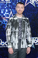 Sam Smith<br /> arriving for the Global Awards 2018 at the Apollo Hammersmith, London<br /> <br /> ©Ash Knotek  D3384  01/03/2018