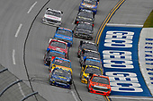 NASCAR Camping World Truck Series<br /> Fred's 250<br /> Talladega Superspeedway<br /> Talladega, AL USA<br /> Saturday 14 October 2017<br /> Cody Coughlin, Ride TV/ Jegs Toyota Tundra and Clay Greenfield, Titan Paint Sprayers Chevrolet Silverado<br /> World Copyright: Nigel Kinrade<br /> LAT Images