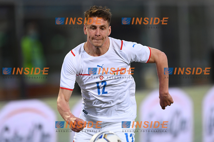 Lukas Masopust<br /> Uefa European friendly football match between Italy and Czech Republic at stadio Renato Dall'Ara in Bologna (Italy), June, 4th, 2021. Photo Image Sport / Insidefoto