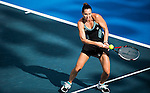 Jelena Jankovic of Serbia vs Ana Bogdan of Romania during the WTA Prudential Hong Kong Tennis Open at the Victoria Pack Stadium on 13 October 2015 in Hong Kong, China. Photo by Moses Ng / Power Sport Images