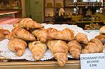 Croissants, Furet Tan Shop, Paris, France, Europe