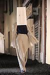 FESTIVAL INTERNATIONAL DE MODE ET DE PHOTOGRAPHIE..Jeunes createurs....Styliste : Nora Berger & Kathrin Lugbauer..Lieu : Villa Noailles..Ville : Hyeres..Le : 01 04 2010..© Laurent PAILLIER / photosdedanse.com..All rights reserved
