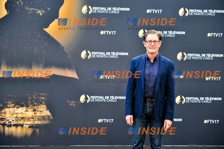 Kyle McLachlan (Twin Peaks)<br /> Monaco - 20/06/2017<br /> 57 festival TV Monte Carlo <br /> Foto Norbert Scanella / Panoramic / Insidefoto