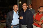 GIACOMO MARRAMAO CON PIERLUIGI PIGI BATTISTA<br /> PREMIO LETTERARIO CAPALBIO 2003