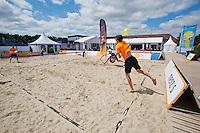 Netherlands, Rosmalen , June 08, 2015, Tennis, Topshelf Open, Autotron, Beachtennis at KNLTB <br /> Photo: Tennisimages/Henk Koster