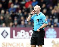 Referee Simon Hooper<br /> <br /> Photographer Rich Linley/CameraSport<br /> <br /> Emirates FA Cup Third Round - Burnley v Barnsley - Saturday 5th January 2019 - Turf Moor - Burnley<br />  <br /> World Copyright © 2019 CameraSport. All rights reserved. 43 Linden Ave. Countesthorpe. Leicester. England. LE8 5PG - Tel: +44 (0) 116 277 4147 - admin@camerasport.com - www.camerasport.com