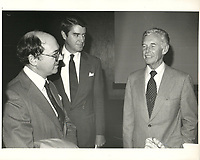 Jack Gallagher, Dome Petroleum ,<br /> 18 novembre 1981<br /> <br /> PHOTO :  Agence Quebec Presse