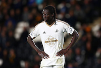 Eder of Swansea City during the Capital One Cup match between Hull City and Swansea City played at the Kingston Communications Stadium, Hull