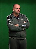29-1-10, Almere, Tennis, Training Fedcup team, Raymond Knaap ass. coach jong oranje