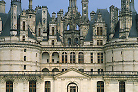 - the Chambord castle....- il castello di  Chambord..