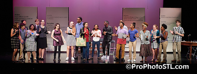 Akeelah and the Bee presented by COCA in St. Louis, Missouri on Nov 3, 2016.