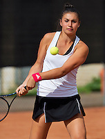 August 9, 2014, Netherlands, Rotterdam, TV Victoria, Tennis, National Junior Championships, NJK,  Tessa van de Ploeg (NED)<br /> Photo: Tennisimages/Henk Koster