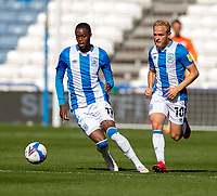 12th September 2020 The John Smiths Stadium, Huddersfield, Yorkshire, England; English Championship Football, Huddersfield Town versus Norwich City;  Adama Diakhaby of Huddersfield Town on the ball