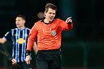 13.01.2021, xtgx, Fussball 3. Liga, VfB Luebeck - SV Waldhof Mannheim emspor, v.l. Schiedsrichter, Schiri, referee Patrick Ittrich gibt Anweisungen, gestikuliert mit den Armen, gesticulate, gives instructions <br /> <br /> (DFL/DFB REGULATIONS PROHIBIT ANY USE OF PHOTOGRAPHS as IMAGE SEQUENCES and/or QUASI-VIDEO)<br /> <br /> Foto © PIX-Sportfotos *** Foto ist honorarpflichtig! *** Auf Anfrage in hoeherer Qualitaet/Aufloesung. Belegexemplar erbeten. Veroeffentlichung ausschliesslich fuer journalistisch-publizistische Zwecke. For editorial use only.
