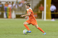 Houston, TX - Sunday Sept. 25, 2016: Rebecca Moros during a regular season National Women's Soccer League (NWSL) match between the Houston Dash and the Seattle Reign FC at BBVA Compass Stadium.
